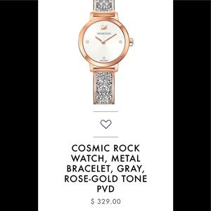 Swarovski Cosmic Rock watch